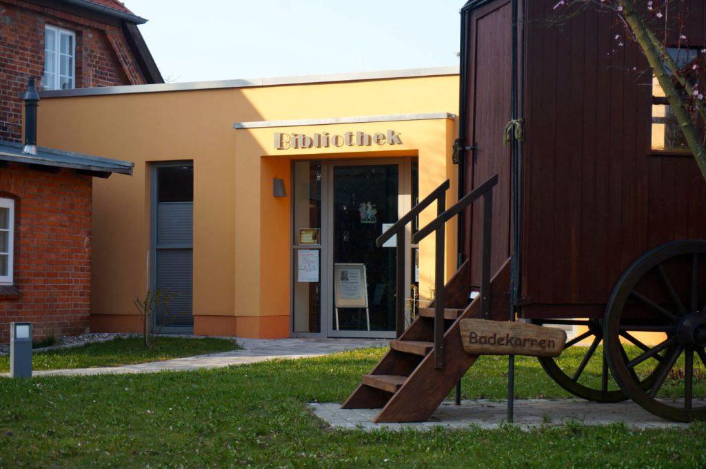Bücherei in Rerik an der Ostsee