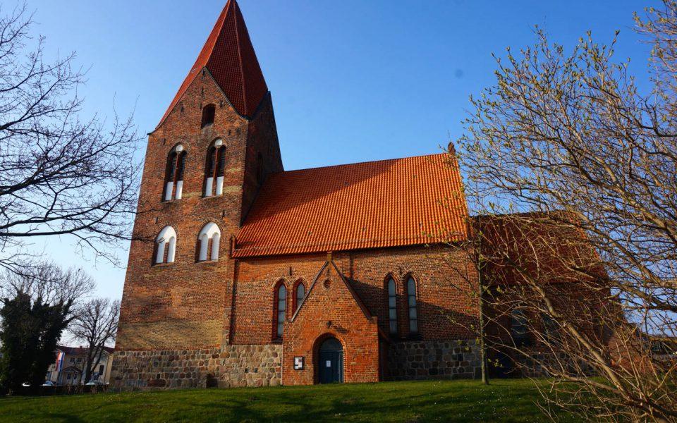 Die Kirche im Zentrum von Rerik
