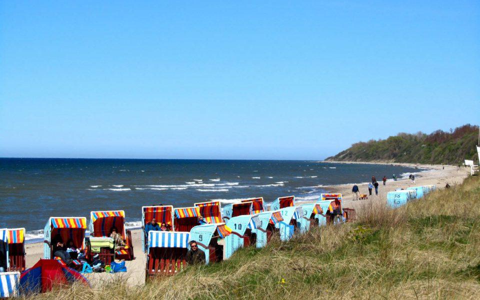 Strand in Rerik an der Ostsee