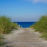 Zugang zum Strand in Rerik
