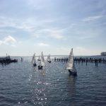 Segeln im Ostseebad Rerik auf dem Salzhaff