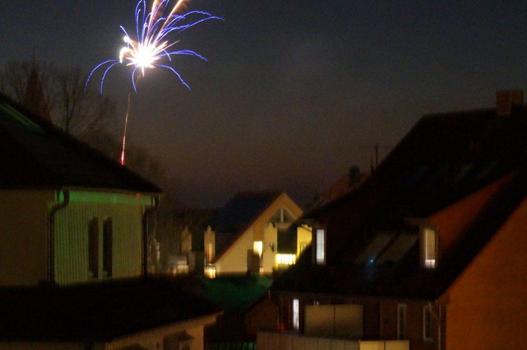 Feuerwerk in Rerik