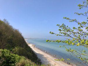 Steilküste in Rerik an der Ostsee