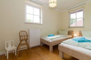 Betten im Kinderschlafzimmer der Whg. 17 in der Residenz Leuchtturm