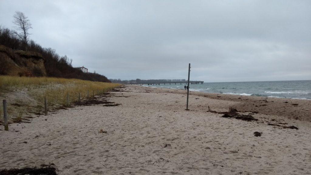 Strand Rerik Ostsee Winter
