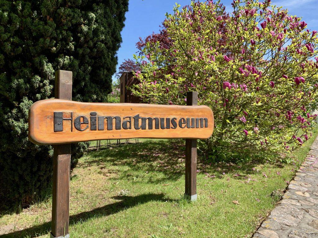Schild des Heimatmuseums Rerik