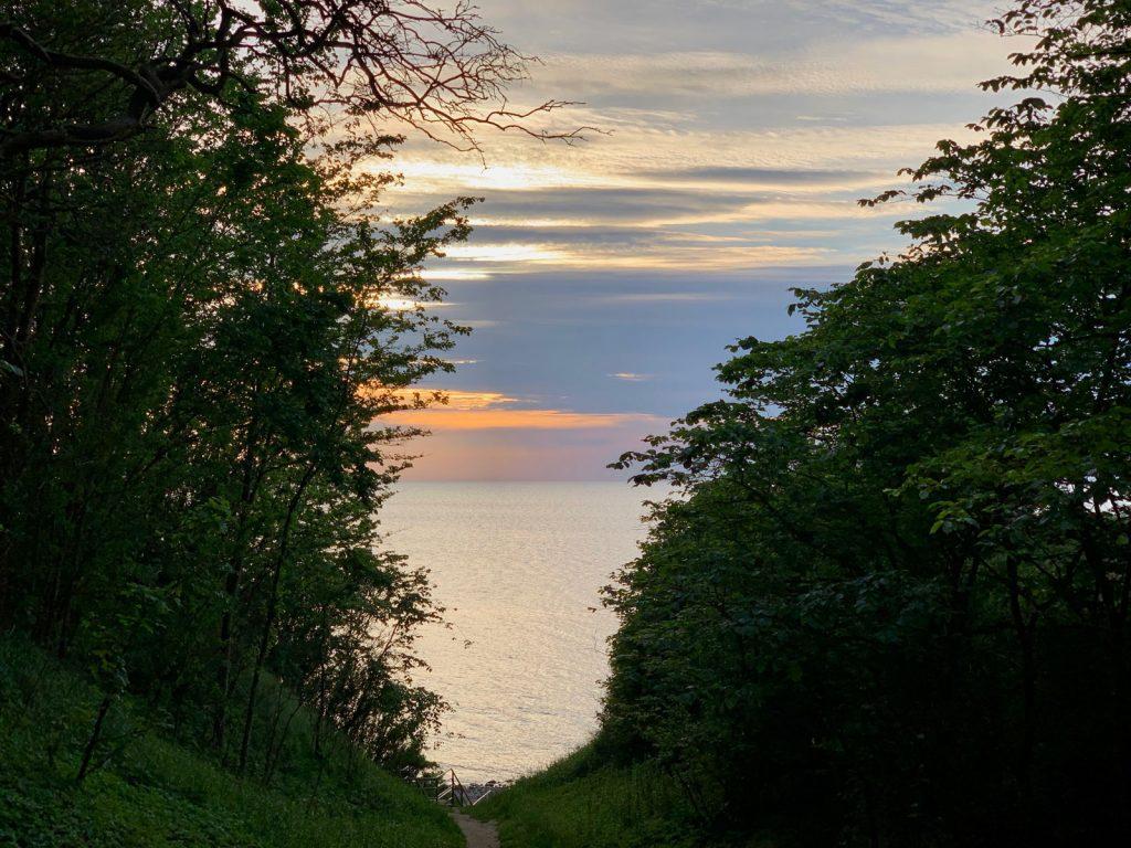 Liebesschlucht Rerik an der Ostsee