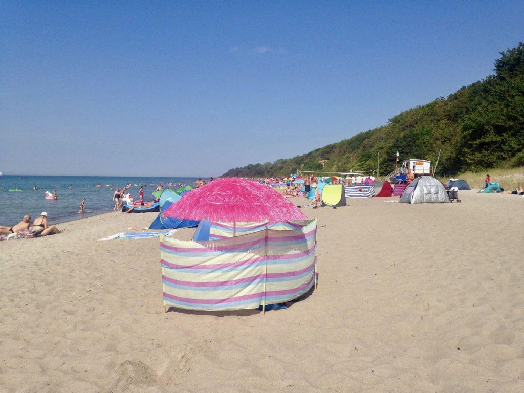 Sommerferien am Strand von Rerik (Ostsee)