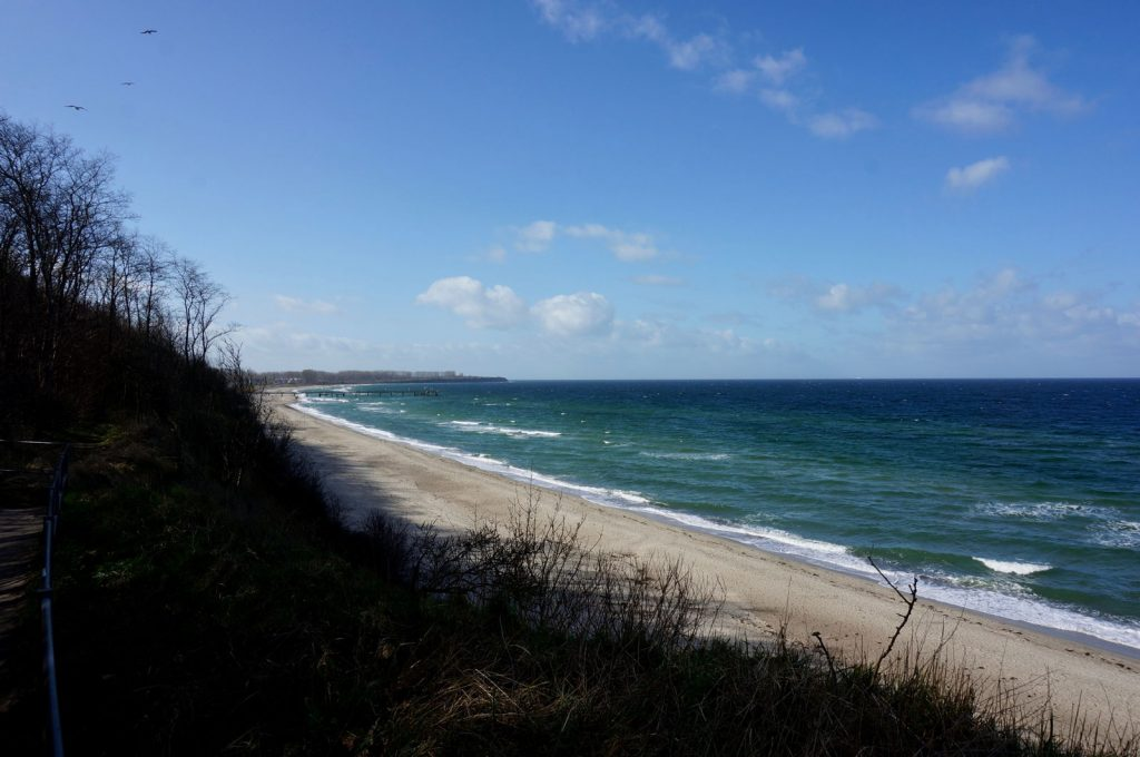 Strand Steilküste Rerik